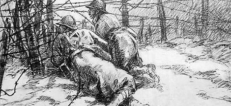 Verdun le massacre annonc verdun - Dessin de poilu ...