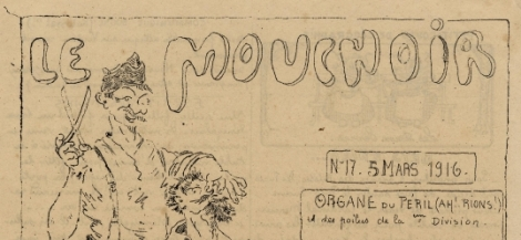 Image Journal « Le mouchoir »